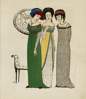 Les Robes de Paul Poiret racontées par Paul Iribe, Paris, 1908 by Paul Iribe