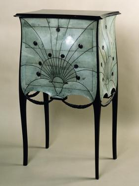 Small, Art Deco Style Chest of Drawers by Paul Iribe