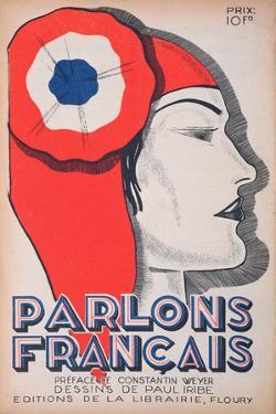 The Witness, Caricature of Marianne, from 'Parlons Francais', 1st July 1934 by Paul Iribe