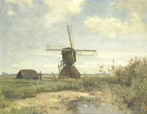 Sunny Day, a Mill to a Waterway, C. 1860-1903 by Paul Joseph Constantin Gabriel