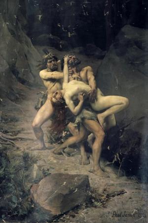 A Rape in the Stone Age, 1888