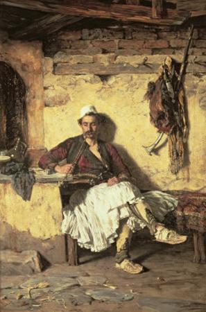 Albanian Sentinel Resting
