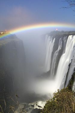 Victoria Falls at Night, Zimbabwe/Zambia by Paul Joynson Hicks