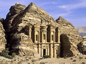 """The """"Monastery"""" Petra, Jordan by Paul Kay"""
