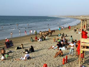 Beach at Mancora, a Popular Playground for Peruvians and Foreign Tourists by Paul Kennedy