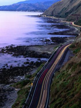 Paekakariki Road along the Kapiti Coast, Wellington, New Zealand by Paul Kennedy