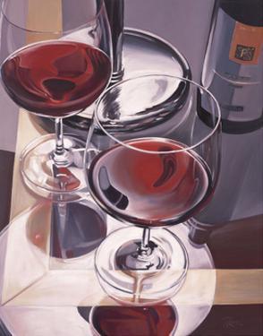 Red Wine in Venice by Paul Kenton