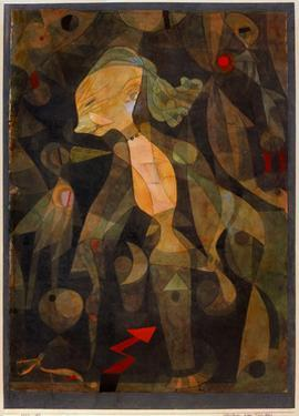 A Young Lady's Adventure, 1922 by Paul Klee