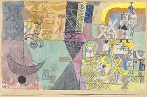 Asian Entertainers by Paul Klee