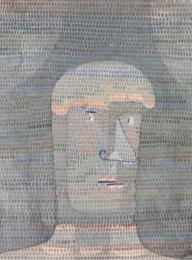 Athletes Head, 1932 by Paul Klee