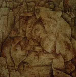 Bewitched Petrified by Paul Klee