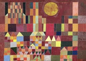 Castle and Sun (detail) by Paul Klee