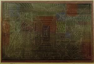 Castle To Be Built in the Forest by Paul Klee