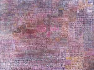 Cathedrals; Kathedralen by Paul Klee