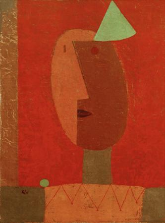 Clown by Paul Klee