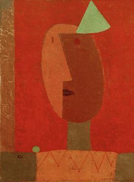 Clown by Paul Klee