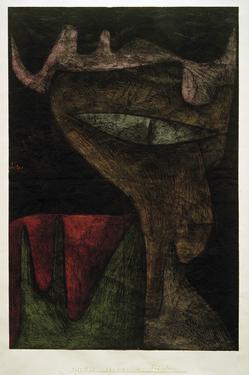 Demonic Lady by Paul Klee