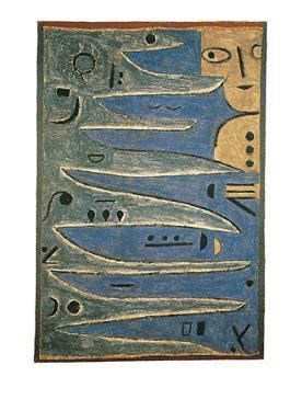 Der Graue und Die Kuste, c.1938 by Paul Klee