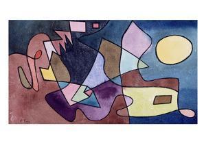 Dramatic Landscape; Dramatische Landschaft by Paul Klee