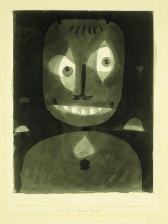 Dummer Teufel by Paul Klee