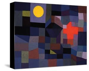 Fire at Full Moon 1933 by Paul Klee