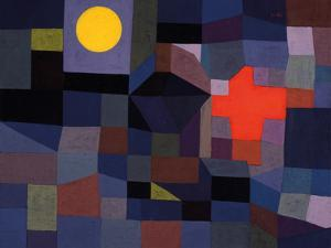 Fire at Full Moon by Paul Klee