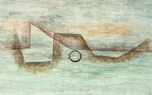 Flooding; Uberflutung by Paul Klee