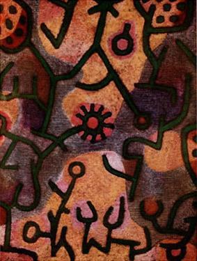Flora di Roccia by Paul Klee