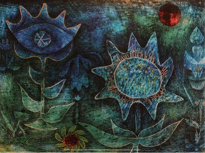 Flowers in the Night (1930) by Paul Klee