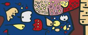 Früchte auf Blau, c.1938 by Paul Klee