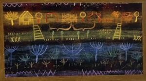 Garden on the Level by Paul Klee