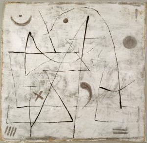 Gedanken bei Schnee, c.1933 by Paul Klee