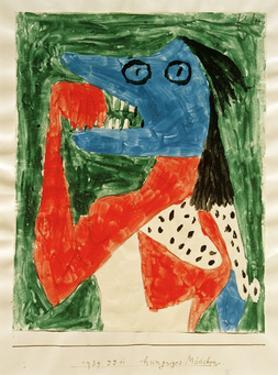 Hungry Girl by Paul Klee