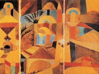 Il Giardino del Tempio by Paul Klee