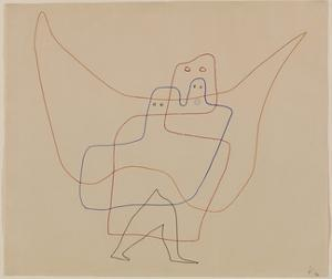 In Angel's Care, 1931 by Paul Klee