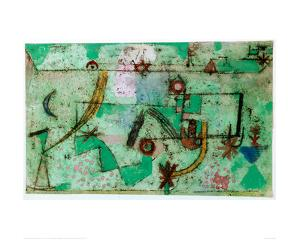 In the Manner of Bach, 1919 by Paul Klee
