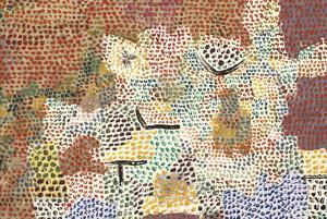 Just Like a Garden Run Wild; Wie Ein Verwilderter Garten by Paul Klee