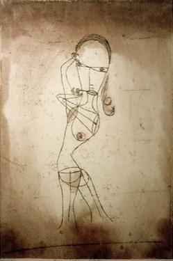 Knowledge, Silence Passing by Paul Klee