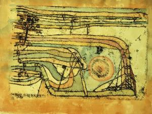 Landscaft im Pankenton by Paul Klee