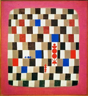 Large Chessboard, 1937 by Paul Klee
