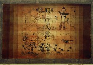 Lions Beware by Paul Klee