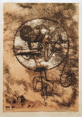 Man in Love by Paul Klee