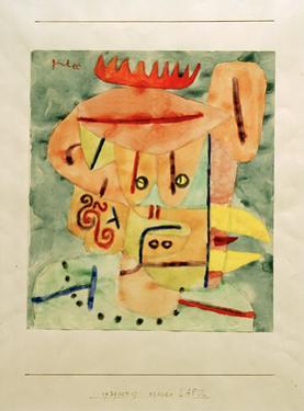 Mask - Lapul by Paul Klee