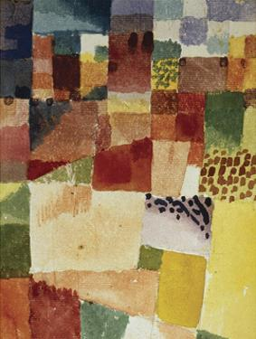Motif from Hammamet, 1914 (No 48) by Paul Klee
