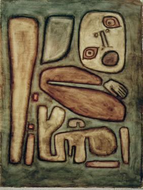 Outbreak of Fear III by Paul Klee