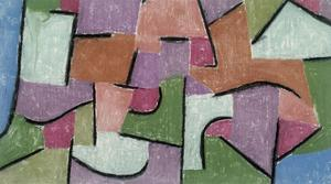 Overland, 1937 by Paul Klee