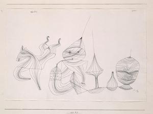 Overtone by Paul Klee