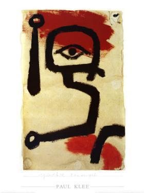 Paukenspieler, 1940 by Paul Klee