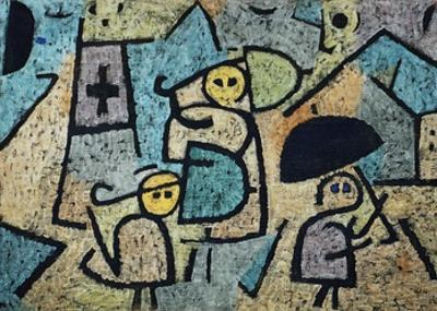 Protected Children by Paul Klee