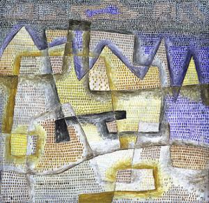 Rocky Coast by Paul Klee